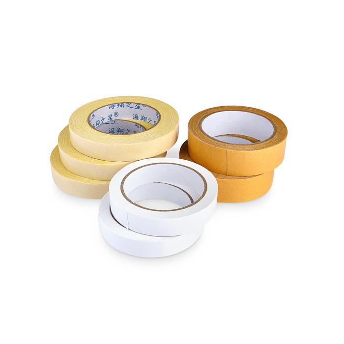 Rewind of carpet tape