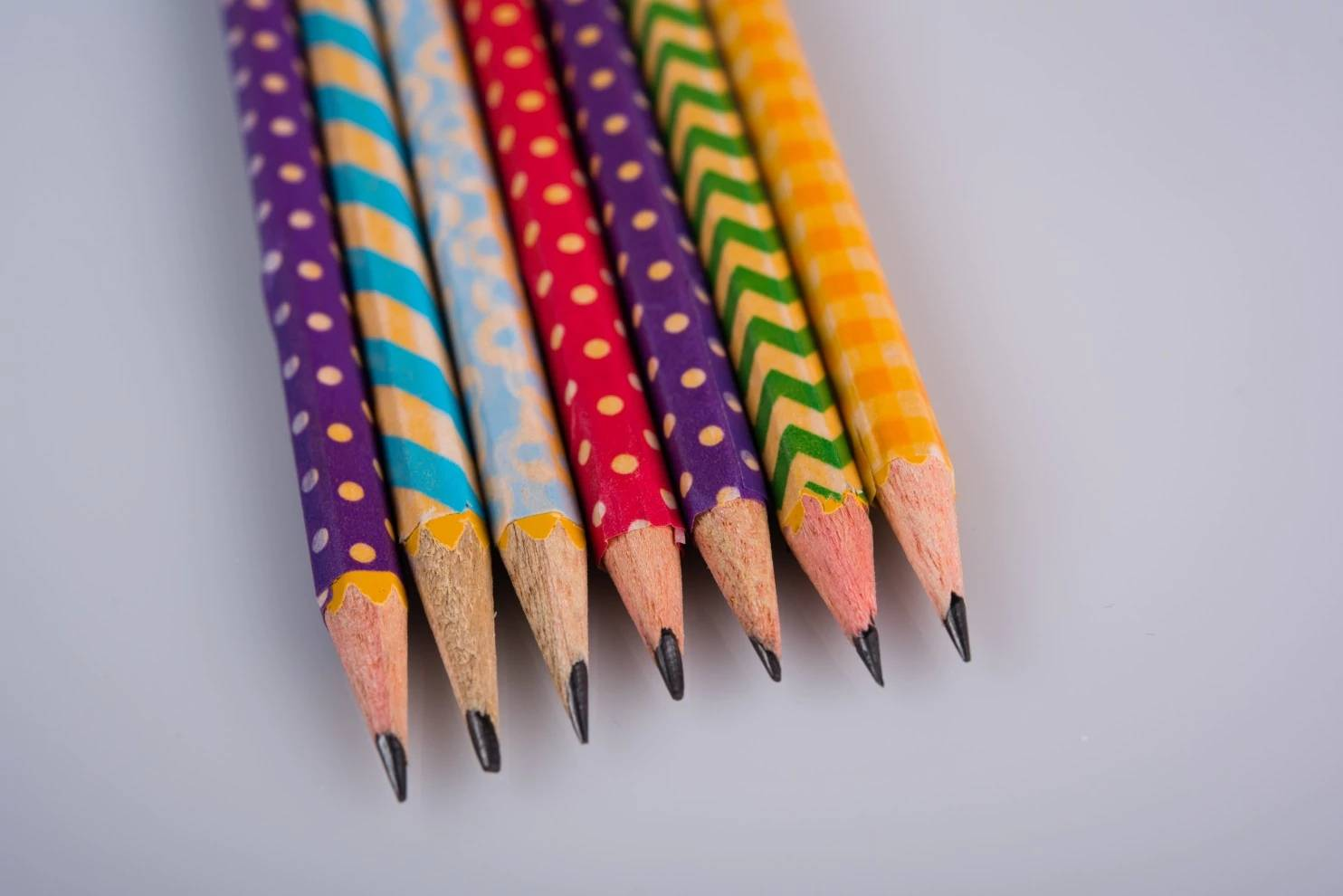 DIY Washi-tape Pencils