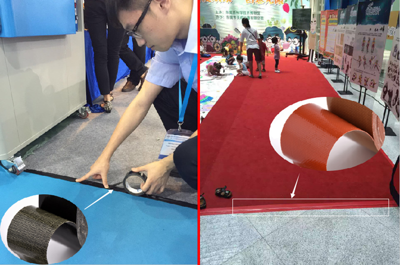 cloth duct tape for exhibition