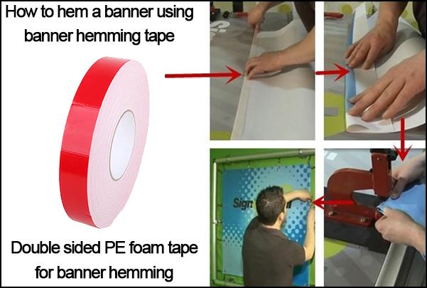 Usage of PE Foam Tape