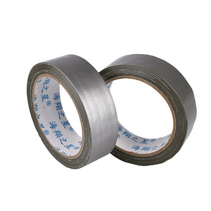 Cheap Waterproof Custom Printed Silver Cloth Duct Tape