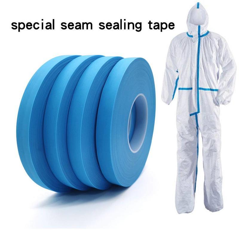 Antibacterial waterproof peva blue hot air seam sealing tape for fabric